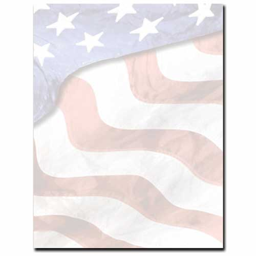 american flag watermark paper A simple and traditional rectangle version of the us flag waving american flag with gradients waving american flag solid colors red, blue and gold stars.