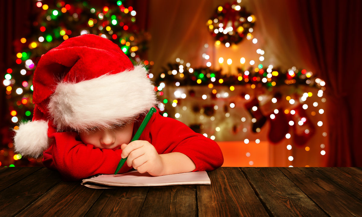 How to write a great christmas letter to friends and family child writing christmas letter aljukfo Gallery
