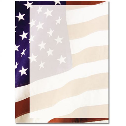 old glory american flag paper