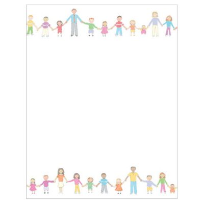 United People Holding Hands Printer Paper