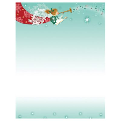 Herald Angel Christmas Holiday Printer Paper