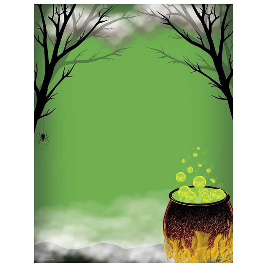 witches-caldron-toil-trouble-halloween-computer-printer-paper